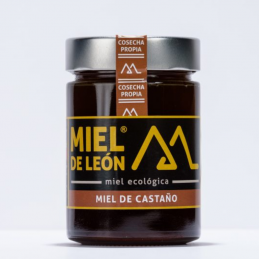 Miel de León Castaño 800 grs.