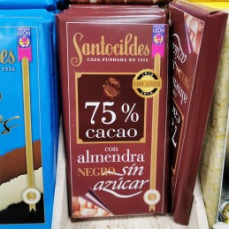 Chocolate 75% cacao con...